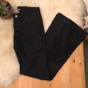 NWT dark flare jeans